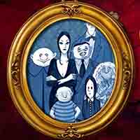 Logo for Addams Family